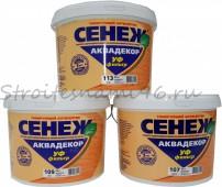 Тонирующий антисептик Сенеж Аквадекор Х2 (сосна) 9 кг.