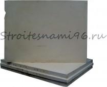 Блок Кнауф перегородочный (500*667*100мм), гипсовый полнотелый