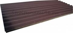 Ондулин SMART коричневый (1950х960мм) - 1,87м2