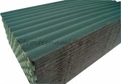 Ондулин SMART (10 волн), зеленый (1950х960мм) - 1,87м2