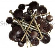 Гвоздь для ондулина (коричневый)